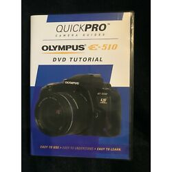 Kyпить Olympus E-510 Tutorial DVD by QuickPro Camera Guides (New) на еВаy.соm