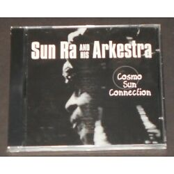 SUN RA & HIS ARKESTRA cosmo sun connection UK CD new sealed REISSUE