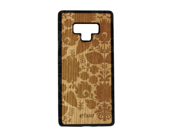 DeutschlandSamsung Galaxy Note 9 Hülle etuo Wood Case Cover Eichenholz -