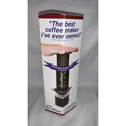 AeroPress Coffee Maker Travel Espresso Style Complete With Filters Open Box