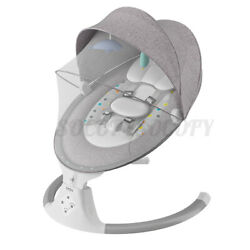 Kyпить bioby Electric Baby Swing Chair Infant bluetooth Music Remote Control Cradle US на еВаy.соm