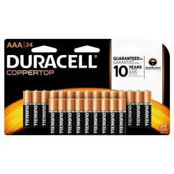 Kyпить Duracell® Coppertop AAA Alkaline Batteries, Pack Of 24 NEW Factory Sealed на еВаy.соm