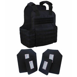 Kyпить Tactical Scorpion Gear 4 Pc Level III AR500 Body Armor Plates Molle Vest Set-up на еВаy.соm