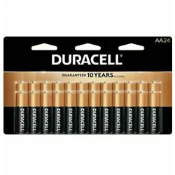 Kyпить NEW 24 Pack Duracell Coppertop AA Batteries, Sealed in Original Packaging на еВаy.соm