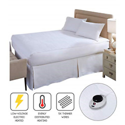 Kyпить SoftHeat Smart Heated Electric Mattress Pad with Safe & Warm Low Voltage Top на еВаy.соm