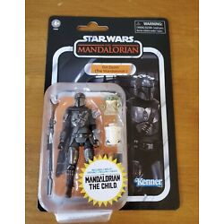 Kyпить Star Wars Vintage Collection Din Djarin (The Mandalorian) with The Child In Hand на еВаy.соm