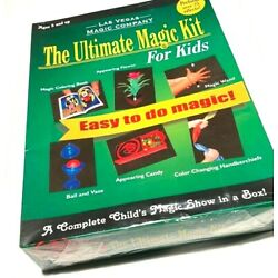 Kyпить ULTIMATE MAGIC KIT FOR KIDS Trick Set Beginner Magician Book Flower Wand Box Toy на еВаy.соm