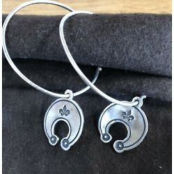 Kyпить Don Lucas Sterling Silver Earrings. Stamped Charm на еВаy.соm