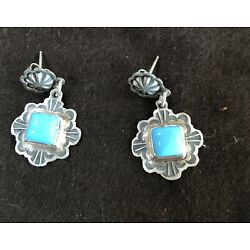 Kyпить Don Lucas Sterling Silver Earrings With Turquoise Stone. Stamped на еВаy.соm