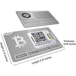 Kyпить One Ballet Real Bitcoin - Physical Cryptocurrency Wallet with Multicurrency  на еВаy.соm