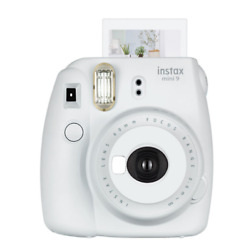 Kyпить Fujifilm Instax Mini 9 Instant Film Camera - Smokey White instant film camera на еВаy.соm