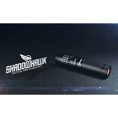img-80000LM Genuine X800 SHADOWHAWK XML L2 LED Tactical&Military Flashlight ZOOMable