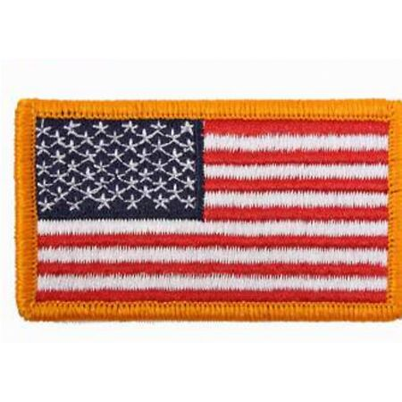 img-US Army Patch 55 Stars Sleeve Badges Flag Navy Usmc Vietnam Iron&sew #2