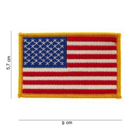 img-US Army Patch 50 Stars Sleeve Badges Flag Navy Usmc Vietnam WK2 WW2 Nam