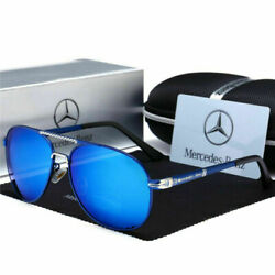 Kyпить Mercedes AMG Herren UV400 Sonnenbrille Sport Driving Golf Outdoor Aviator Brille на еВаy.соm
