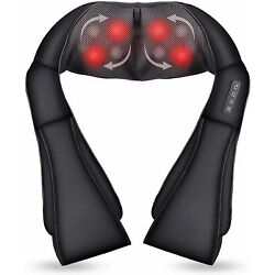 Kyпить Shiatsu Back and Neck Massager with Heat Function, Deep Tissue Kneading Massager на еВаy.соm