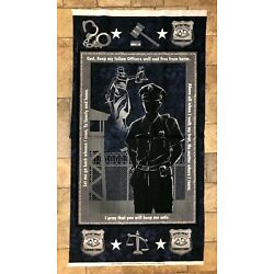 Sykel Military Correction Officer 100% cotton fabric by the panel 24 x 44 1195CO
