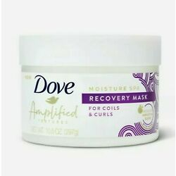 Dove Amplified Textures Moisture Spa Recovery Hair Mask Honey Curls 10.5 oz