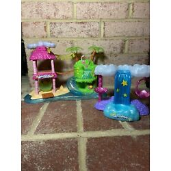 Kyпить Hatchimals Collectibles Glowing Waterfall & Beach Treehouse Playset Lot на еВаy.соm