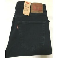 Kyпить NWT MEN LEVI'S 527 - 0598  SLIM BOOTCUT STRETCH JEANS DARK BLUE PANT DENIM $70 на еВаy.соm