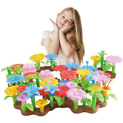Kyпить NEW Flower Garden Building Toys For Girls Stem Toy Set Free Bpa 2-3-4 Year Old на еВаy.соm