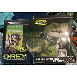 Kyпить Mattel D Rex Animated Robot Dinosaur Interactive T Rex Toy New Sealed Htf 2006 на еВаy.соm