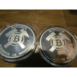 Kyпить TWO New FINITE BY DESIGN FD limited w/ COA BTC 1oz SILVER- unfunded на еВаy.соm