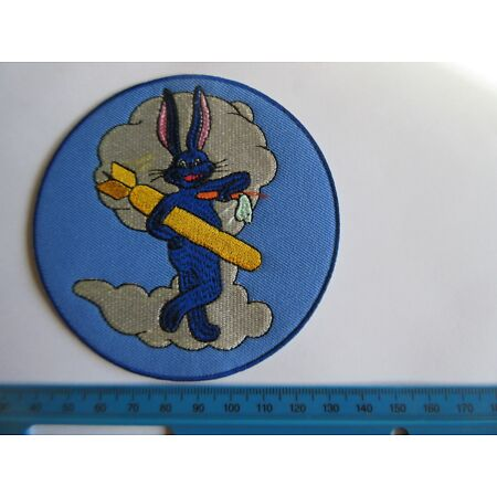 img-91st Bomb Squadron 324 BS Bugs Bunny Patch Airforce Pilots A2 Jacket US Army 3