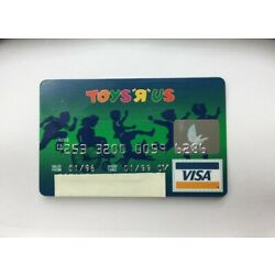 Kyпить Toys 'R' Us Expired 1996-1999 Credit Charge Card Collectible Visa Vintage  на еВаy.соm