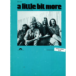 Kyпить 1973 Sheet Music ~ A LITTLE BIT MORE ~ Dr. Hook ~ NEW! Rare! на еВаy.соm