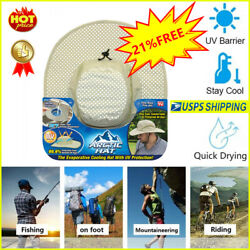 Arctic Hat Evaporative Cooling Hat as Seen On TV with UV Protection Comfortable