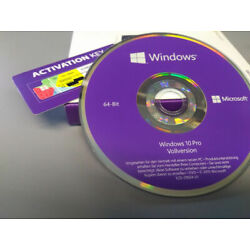 Kyпить Windows 10 Professional 64Bit DVD + Win 10 Pro COA OEM Key, versiegelt NEU на еВаy.соm