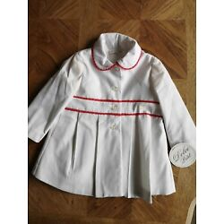 Dolce Petit Baby Girl Coat 18 months