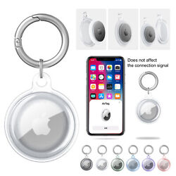Kyпить For Apple AirTag Case Clear TPU Protective Cover for AirTags на еВаy.соm