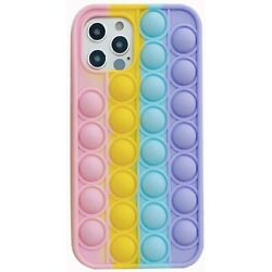 Kyпить Pop it Phone Case Fidget Stress Relief Toy Antistress Phone Cover for iPhone на еВаy.соm