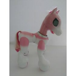 Kyпить ZOOMER Show Pony Pink White Interactive Horse Collectible Toy - No Accessories на еВаy.соm