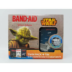 Kyпить Star Wars Band-Aid Limited Edition Collector's Series Tin - Tie Fighter NEW NOS на еВаy.соm