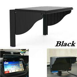 Car GPS Sun Shade Cover Hood For 6-10In Navigation Radio Player Width 145-245mm