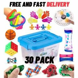 Sensory Fidget Toys 30 Pack Stress Relief and Anti-Anxiety Toy for Kids US