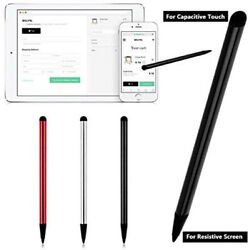 Touch Screen Pen Stylus  For iPhone iPad Samsung Tablet Phone PC 2 in 1