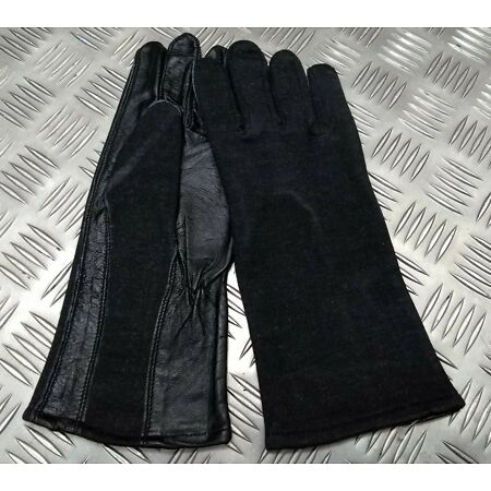 img-Genuine British UKSF SAS SBS Special Ops Leather Cloth Assault Suit Gloves NEW