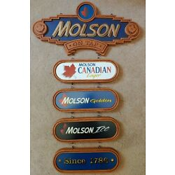 Kyпить Molson Canadian Beer Lager Hanging Wall Sign на еВаy.соm