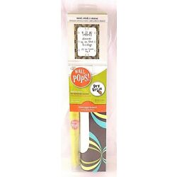 Wall Pops! Message Board ''Loopy Green/Blue Design'' Peel Stick & Move Dry Erase