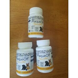 ProDen Plaque Off Powder for dogs/cats, set of 3.