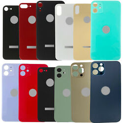 Big Hole Rear Back Glass Door Battery Cover For iPhone 8 X XR XS 11 12 Pro Max