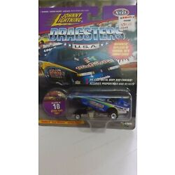 Johnny Lightning Dragsters USA Otter Pops 1991 Funny Car Collector No. 10  NHRA