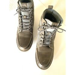 Aldo Men's Brown/Gray High Top Lace Up Fashion Sneakers Ankle Boots 12