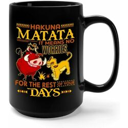It Means No Worries For The Rest Of Your Days Mug Best Gift For Friends & Family
