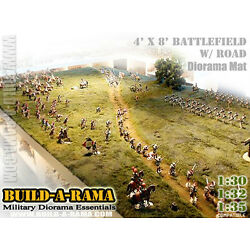 WOW 1:32 HUGE 8X4 DIORAMA MAT wROAD for KING & COUNTRY First Legion Britains n