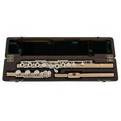 Pearl Cantabile 958 Flute   18K Rose Gold Plated   B-Foot   Open Holes   New !!